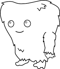 Small Picture Cute Monster Clip Art To ColorMonsterPrintable Coloring Pages
