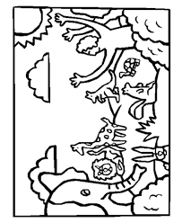 Creation Coloring Pages For Kids Coloringstar
