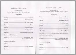 Church Program | Nfcnbarroom.com