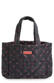 Lyst - Marc by marc jacobs 'small Crosby' Quilted Nylon Tote in Red & Gallery Adamdwight.com