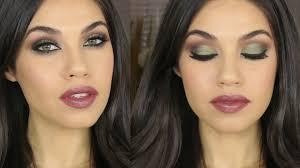 tutorial green brown smokey eye makeup eman you