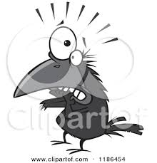 Image result for crow in cartoon