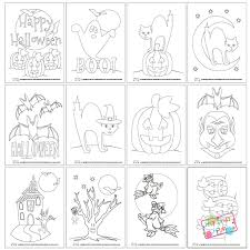 Small Picture Halloween Coloring Pages Itsy Bitsy Fun