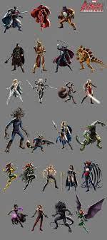 Marvel Avengers Alliance Sprites – Kelly Hamilton