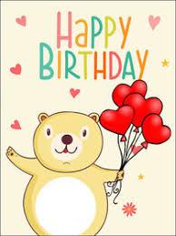 printable children s birthday cards free printable birthday kids cards create and print free