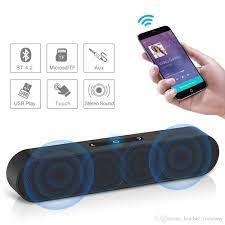 Satın Al Bluetooth Hoparlör F1 Artı Bas Soundbar Taşınabilir Kablosuz Ve  Kablolu AUX Modu Handfree Subwoofer Açık Stereo HIFI Mic Müzik Hoparlör,  TL202.88