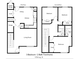 3 Bed  2 Bath Apartment In Rockport TX  Sea Mist Townhomes  Sea Townhomes Floor Plans