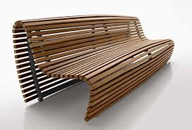 outdoor bench seating modern outdoor wood bench by b amp b