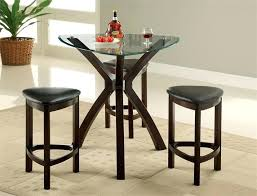 glass counter height dining set glass triangle counter height table set round glass top counter height