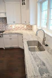 curved laminate countertops amazing kitchen features a white shaker cabinets paired with gray fitted with a curved stainless steel sink and a white subway