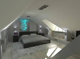 Bedroom Cool Attic Bedroom Ideas Color Decorating Comfortable