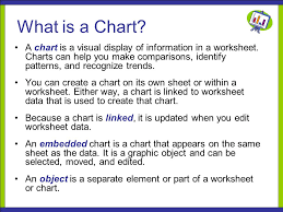 Cts130 Spreadsheet Lesson 9 Building Charts What Is A