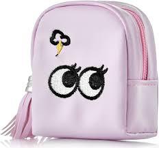 """<b>Брелок для сумки Ameli</b> """"Глаза"""", розовый"""