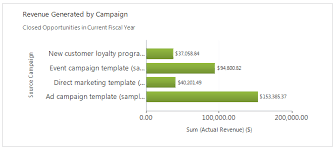Advanced Campaign Performance Chart In Ms Crm Crm Chart Guy