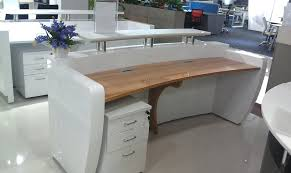 computer table design commercial modern office floor wood reception executive computer desk design furniture for