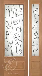 full view glass exterior doors. exterior solid mahogany excellent roma full view decorative glass \u2013 8/0 black iron between doors o