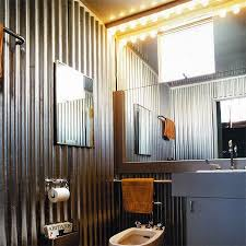 home dzine home decor corrugated sheet metal for indoors tin shower walls