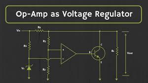 Shunt Regulator Circuit Design Voltage Regulator Op Amp As Voltage Regulator