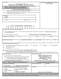 Criminal Record Template Free Request For Criminal Record Check Form Templates At