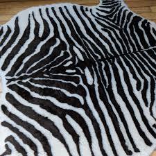 zebra faux rug 1 zebra faux rug 2