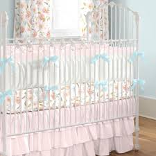 pink hawaiian fl crib bedding