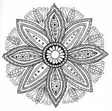 Disegni Da Colorare Antistress Per Adulti Mandala