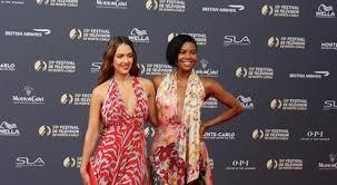 Jessica Alba, Lindsey Morgan, Ricky Whittle : l'ouverture glamour du  Festival de Télévision de Monte-Carlo