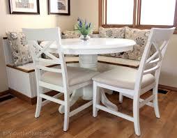 Bench Breakfast Nook Decorating Captivating Wooden Corner Breakfast Nook Set With