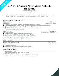 Janitorial Resume Skills Janitor Cover Letter Resume For Custodian
