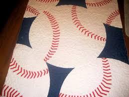 Learn to Sew an Exquisite Baseball Quilt - Matt and Shari & Wanda Twins Quilt 1 Adamdwight.com