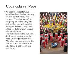 brand wars by aharon jana ppt video online  5 coca cola vs pepsi