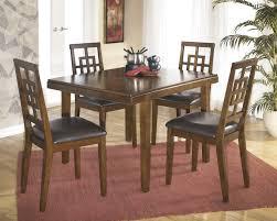 Kitchen Tables Ashley Furniture Cimeran Medium Brown 5pc Rectangular Dining Set For 29000