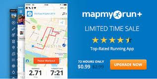 mapmyrun app on sale  running with miles