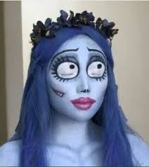 corpse bride makeup check out you