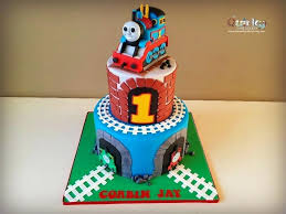 The Train Cake The Train Cake 2 Thomas The Tank Engine Birthday Cake