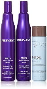 amazon pravana artificial hair color extractor bo set chemical hair dyes beauty