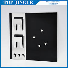 Black Glass Memo Board Impressive Black Glass Memo Board Stainless Steel Black Glass Memo Boards Buy