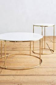 round nesting tables 46 most great coffee table canada modern gold black leg eichholtz fletcher modern classic white marble top