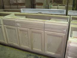 Wholesale Kitchen Cabinets GA 72 Inch Oak Sink Base West Yellow Knife