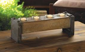 industrial wood furniture.  Industrial Industrial Wooden Candle Holder And Wood Furniture T