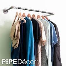 pipe decor 1 2 in x 2 ft l black pipe