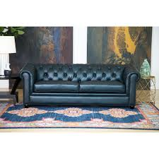 chesterfield sofa. Beautiful Sofa Shop Abbyson Tuscan Top Grain Leather Chesterfield Sofa  On Sale Free  Shipping Today Overstockcom 8230103 Throughout R