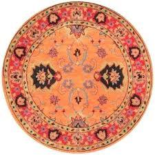 8 ft round rug orange 8 5ft x 8ft area rugs