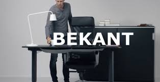 endearing adjule standing desk ikea heres why ikea bekant has standing desk fans frantic slashgear