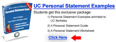 uc personal statement guide example begin college  accepted personal statement examples