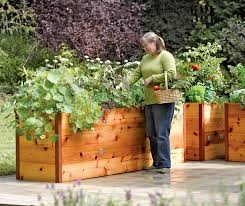 elevated garden beds. Elevated Cedar Raised Garden Beds E