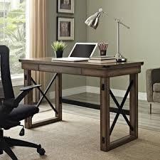 wood home office desks. altra wildwood wood veneer desk home office desks