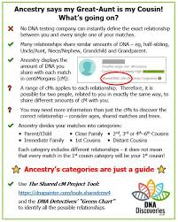 Dna Detectives Autosomal Chart Dna Discoveries