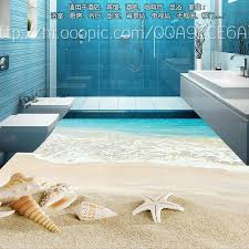 custom vinyl floor tiles s and starfish 3d wallpapers 3d