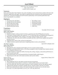 Resume Objective For Retail Best Example Of Retail Resume Consultant Resume Example Retail Resume